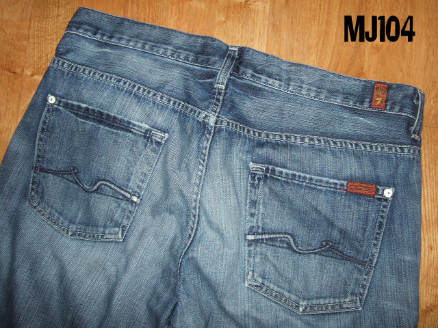 Seven For All Mankind Bootleg Bootcut Jeans 32 30 Blue