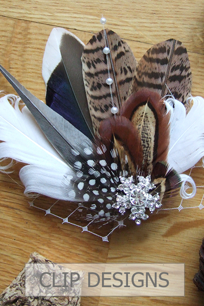 Bridal Fascinators. Bridal Hair Clips. Bridesmaids Hair Fascinators